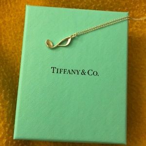 Tiffany & Co. music note necklace